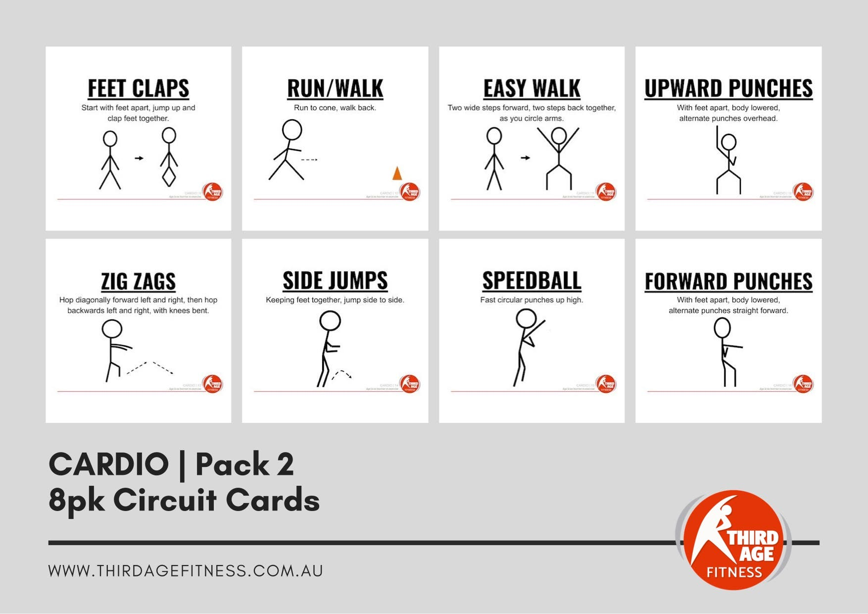 Circuit Cards - Cardio Pack 2