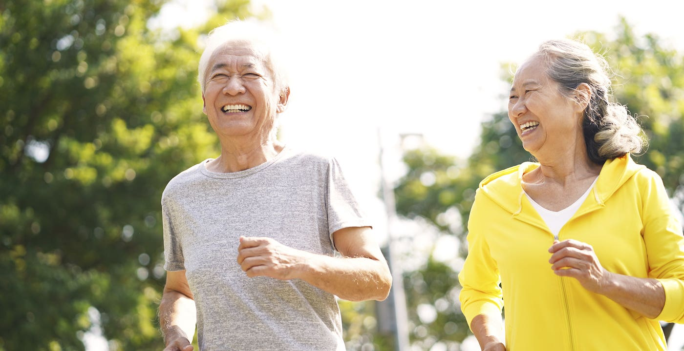 Walking tips for older adults