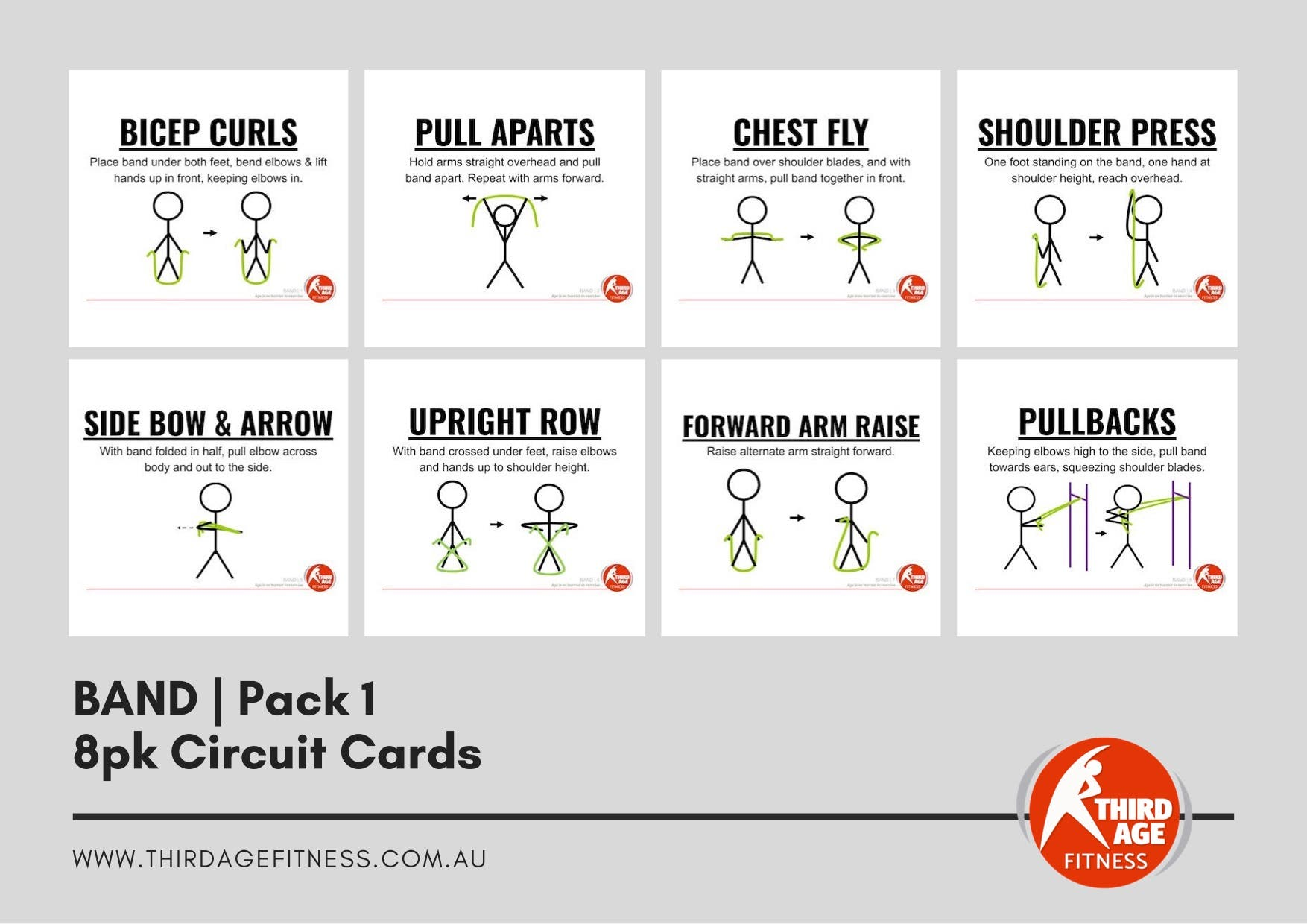 Circuit Cards - Band Pack 1