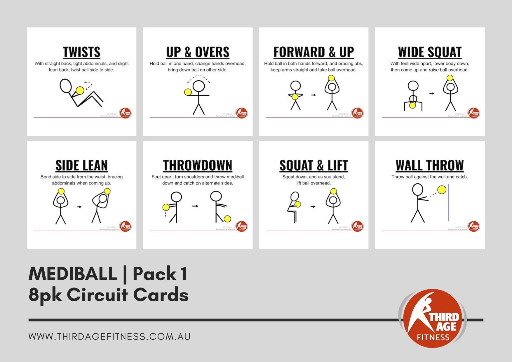 Circuit Cards - Mediball Pack 1