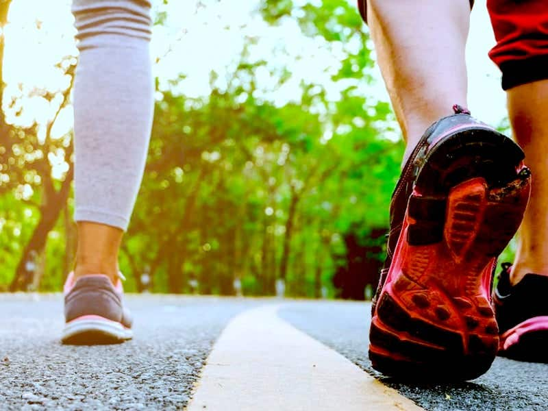 Walking tip - find a friend