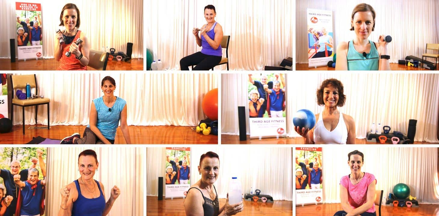 Free trial of home workouts for older adults