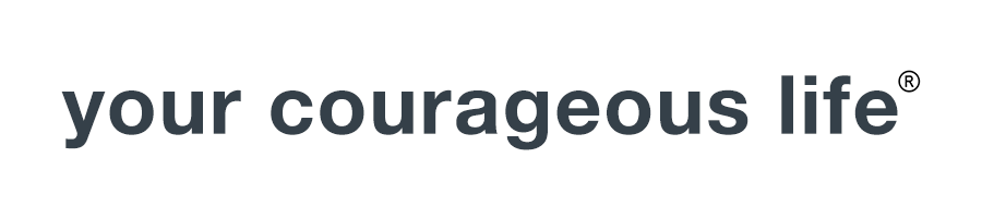 your courageous life logo