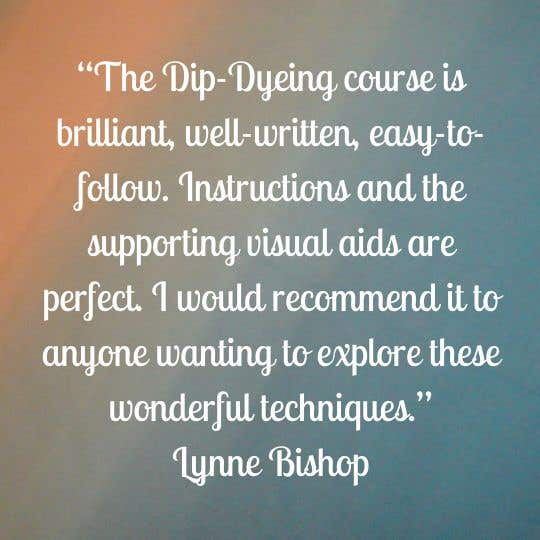 Dip dye or ombre online course