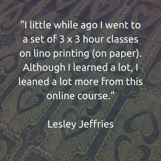 Lino Printing Courses