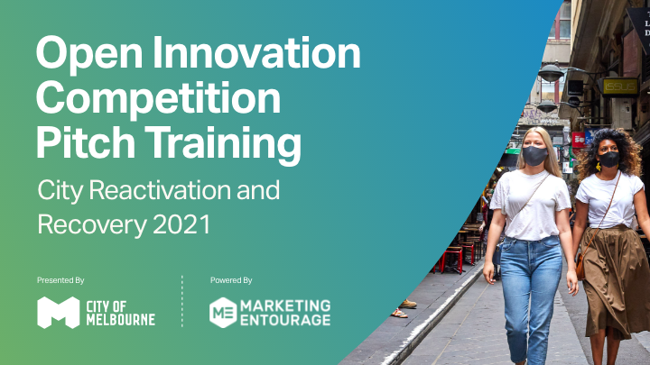 Open Innovation Competition Pitch Training 2021
