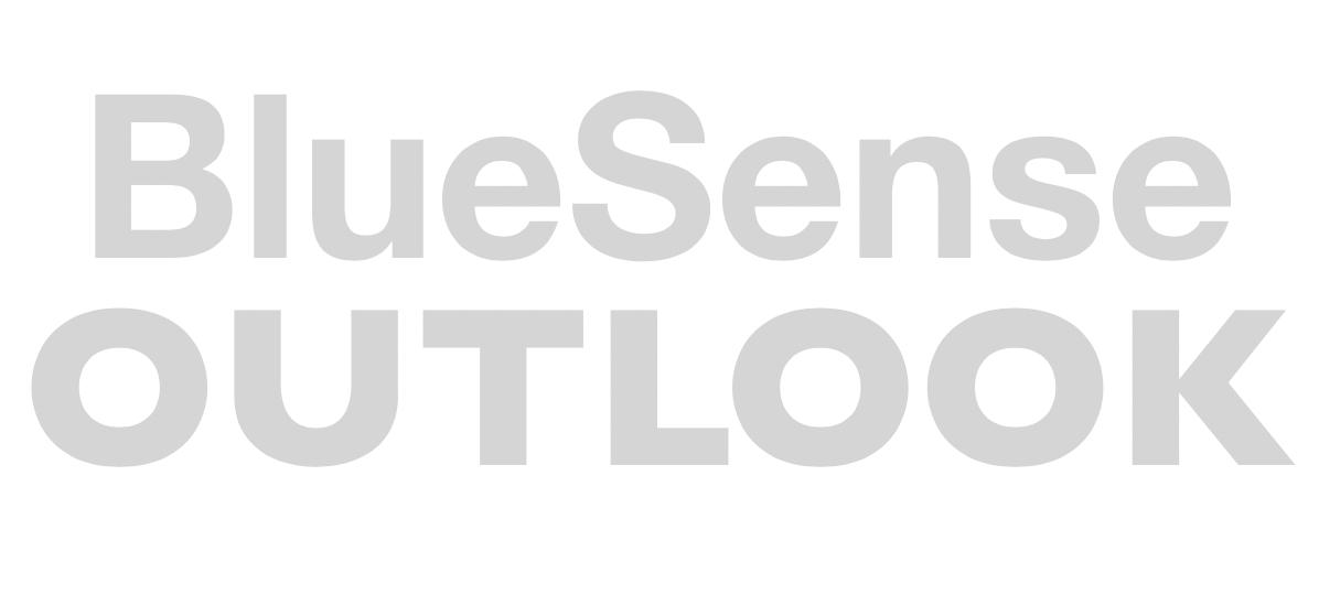 BlueSense Outlook logo