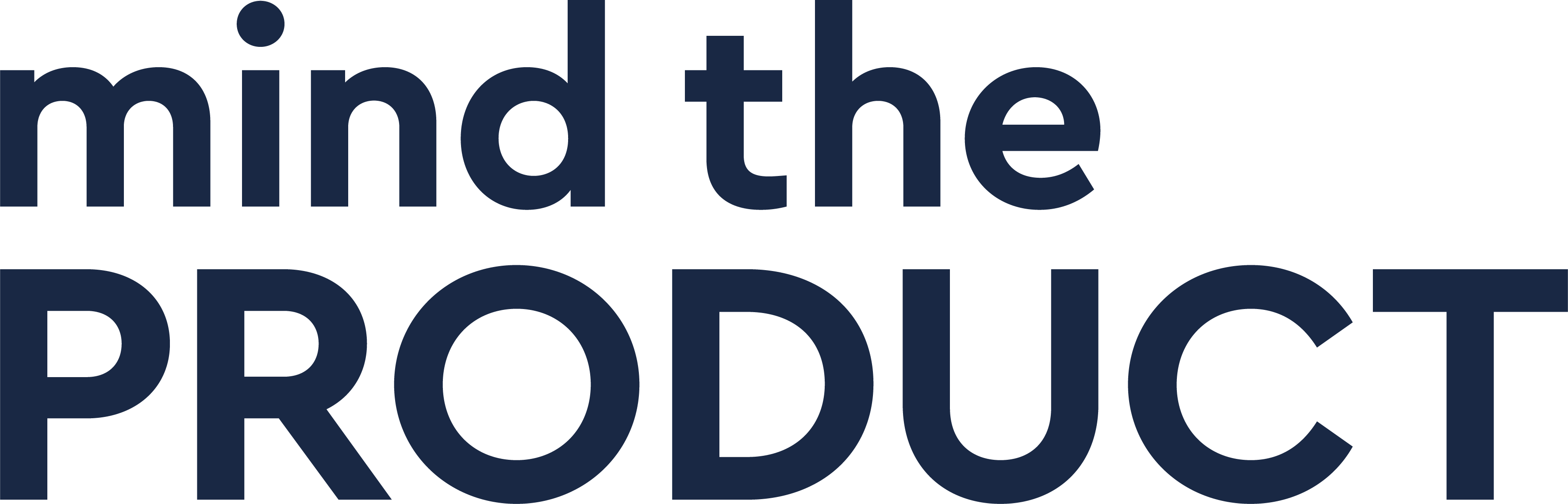 The Mind the Product logo