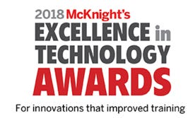 2018 McKnight's Excellence in Technology Award