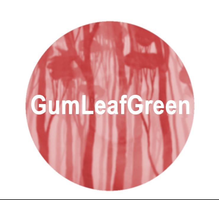 Gum Leaf Green logo
