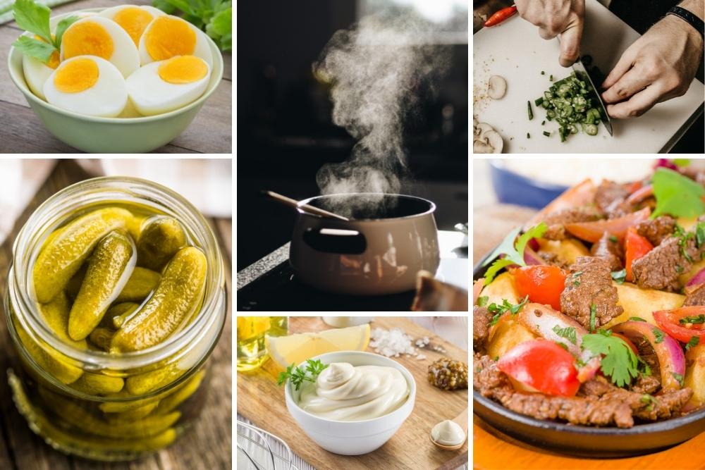 que aprenderas Cocina Básica en Casa: Elaboraciones y Conceptos