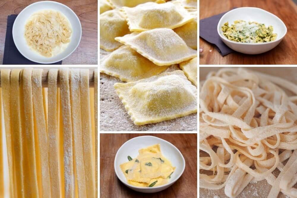 que aprenderás Pasta fresca italiana: Tipos y Salsas clásicas