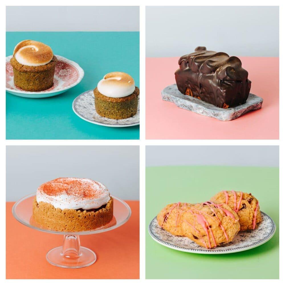 Diferentes tartas americanas