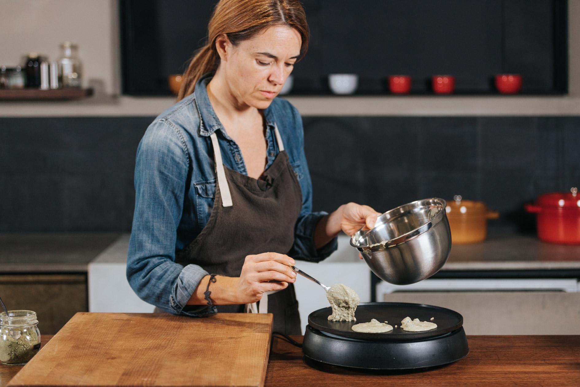 ZAhyra Perez cocinando