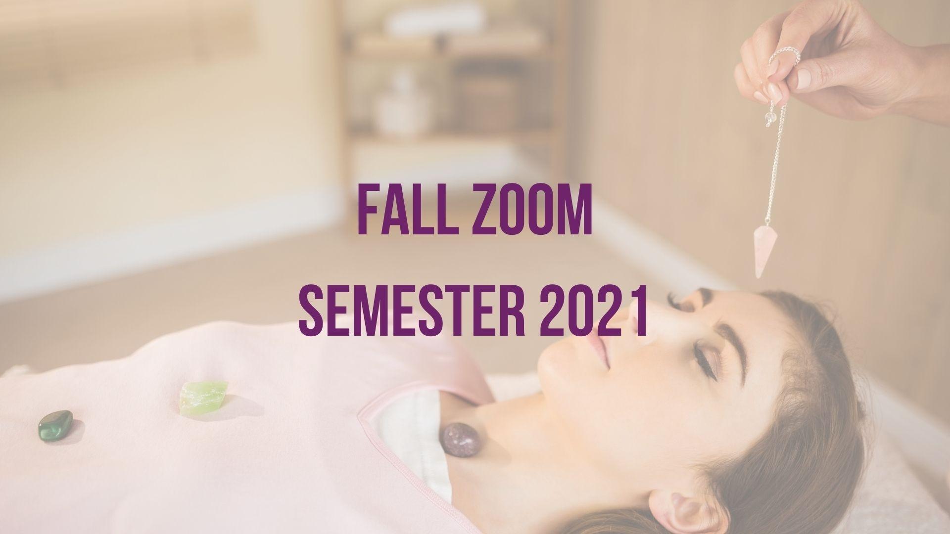 Fall Zoom Semester 2021