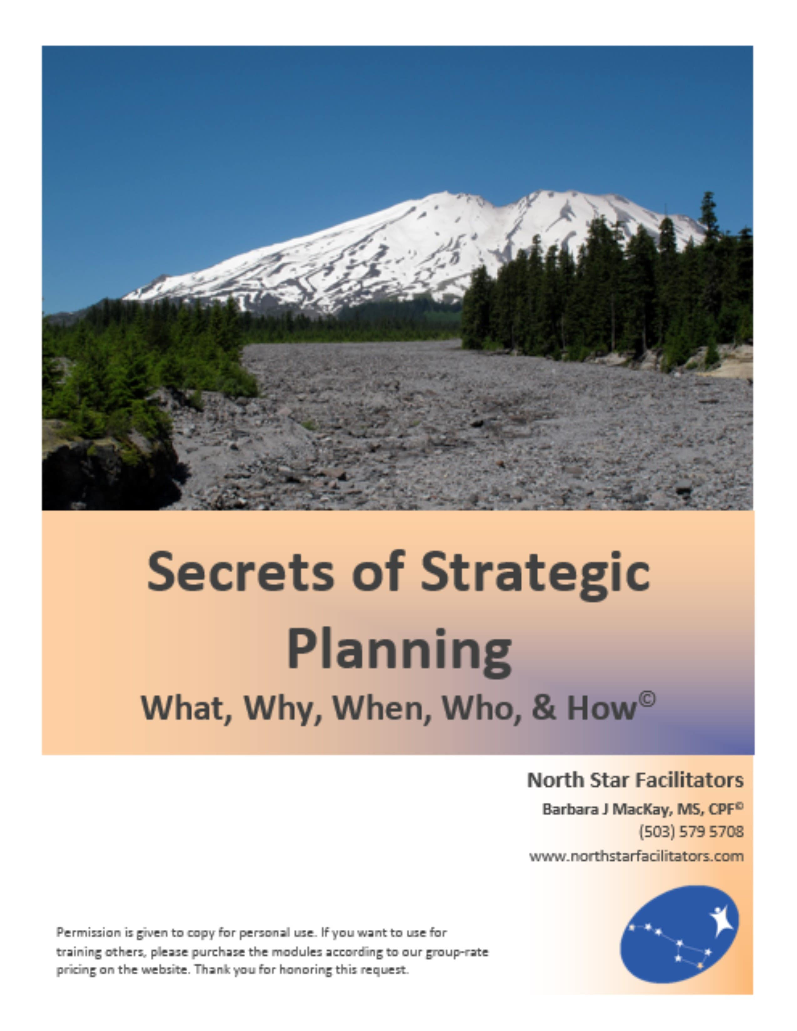 A good strategic plan acts as a compass.