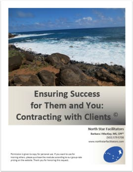 There are no right or wrong ways to contract with your client.