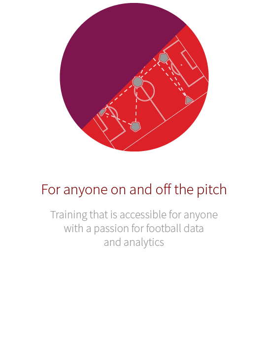 For anyone on and off the pitch