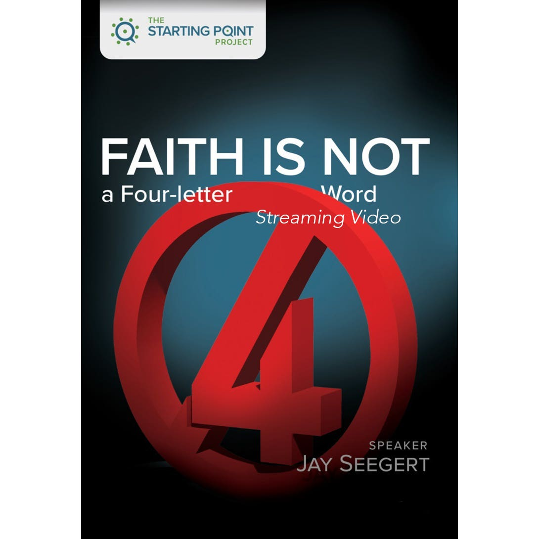 Cover for The Starting Point Project Faith is Not a Four-Letter Word streaming video