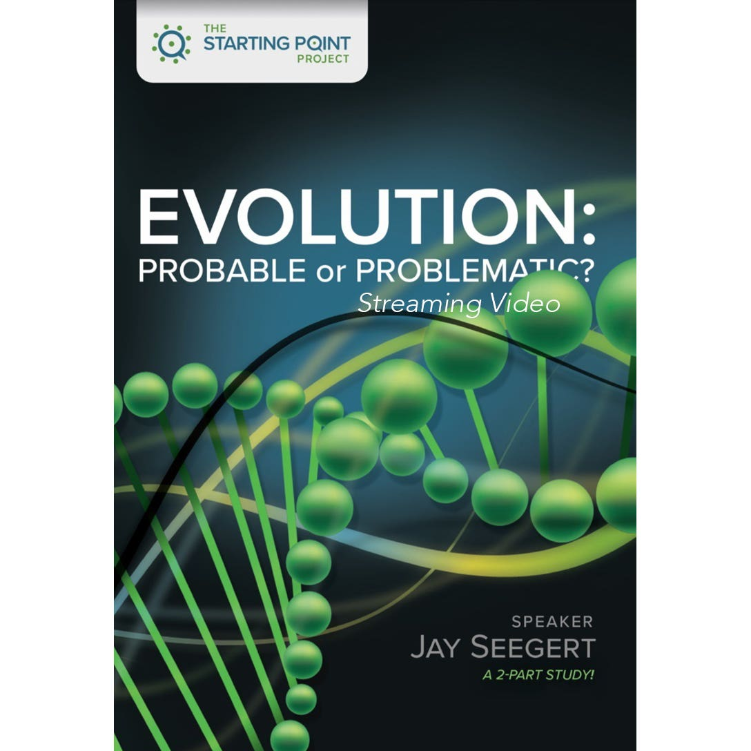 Cover for The Starting Point Project Evolution: Probable or Problematic? streaming video