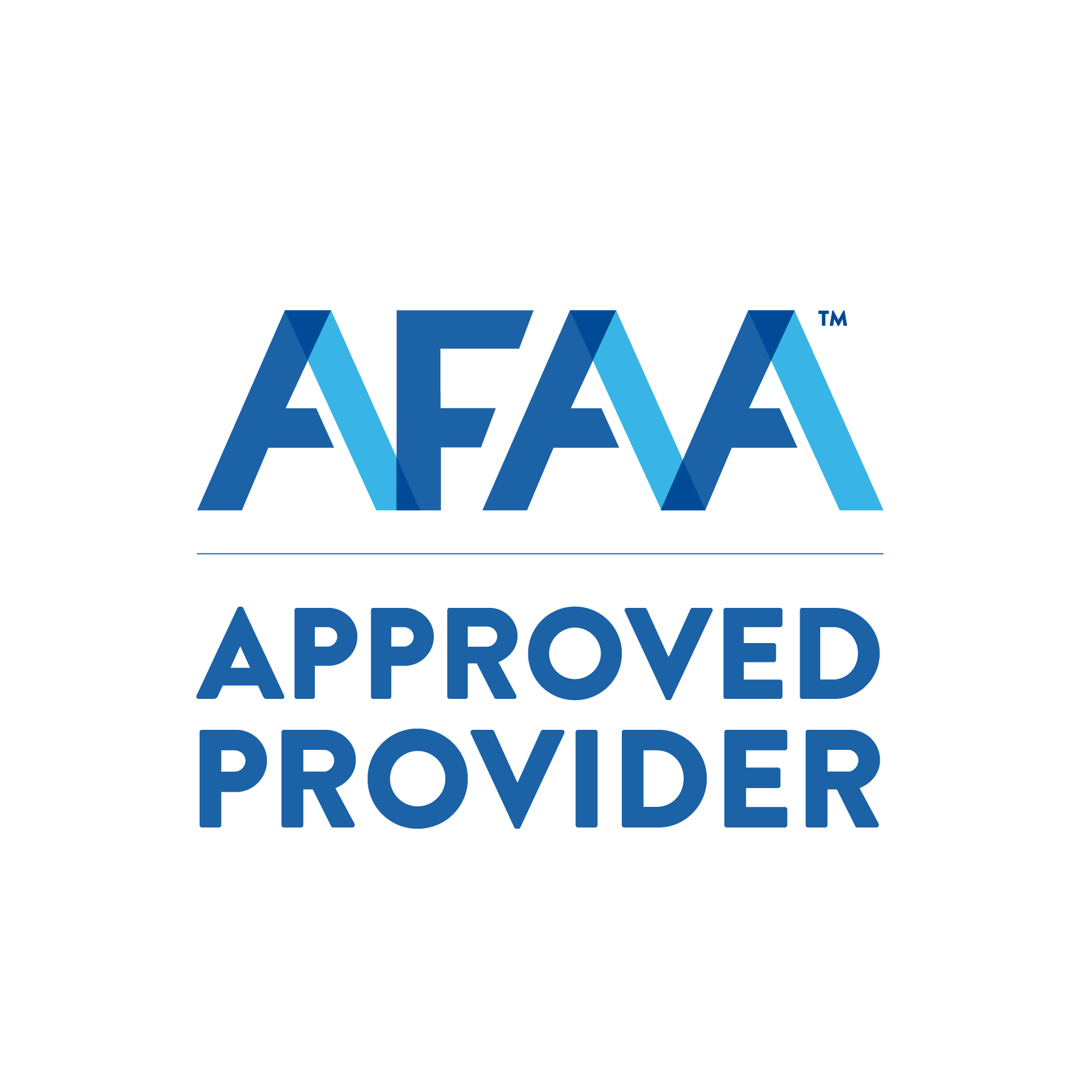 Aerobics and Fitness Association of America (AFAA) approved provider
