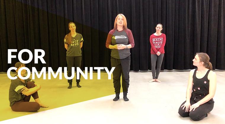 Dance classes geared toward children