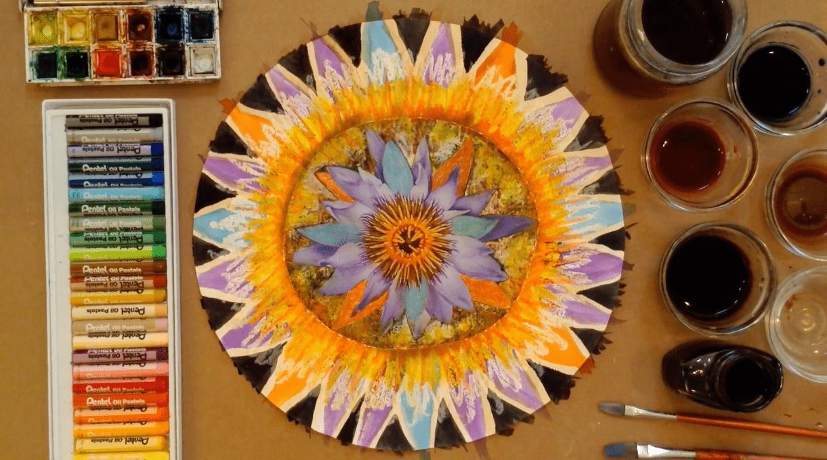 mandala, astar, art, flower mandala