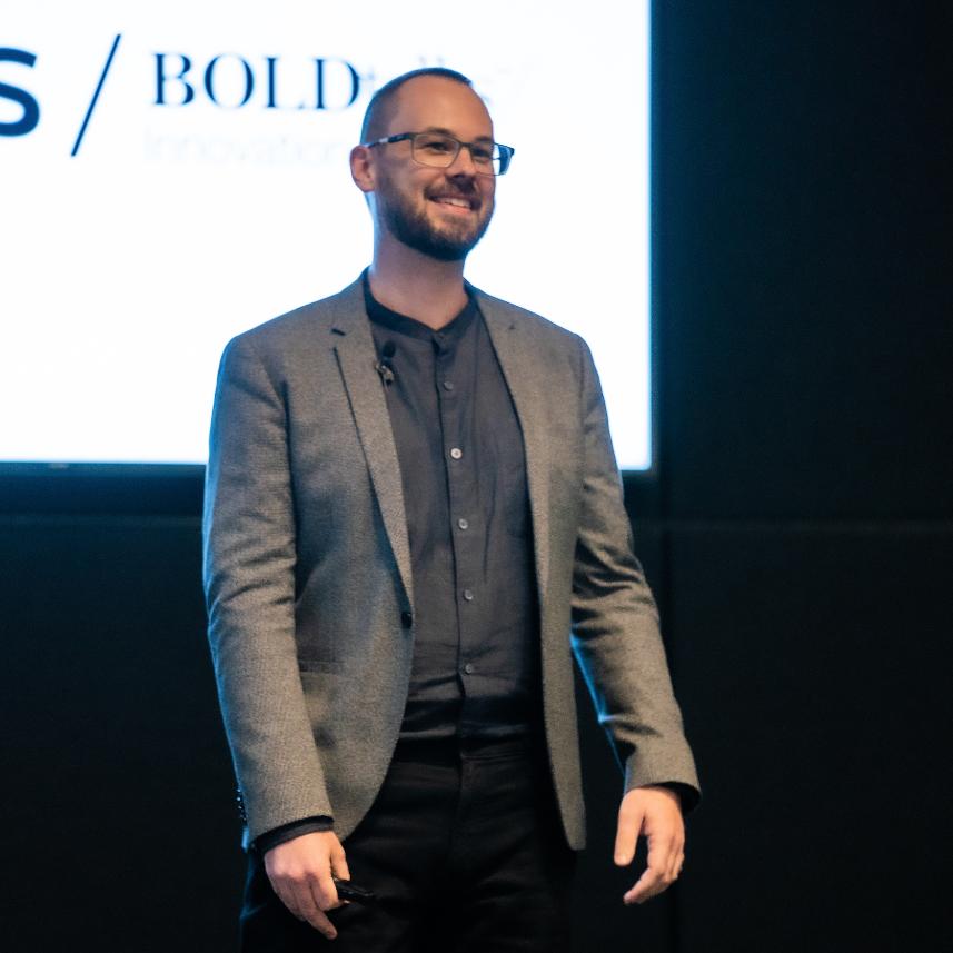Peter at Airbus BoldTalks Innovation 2019