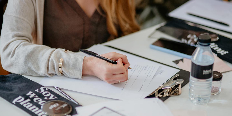 Alumna del Curso de Organización y Diseño para Wedding Planners, Bodas de Cuento School