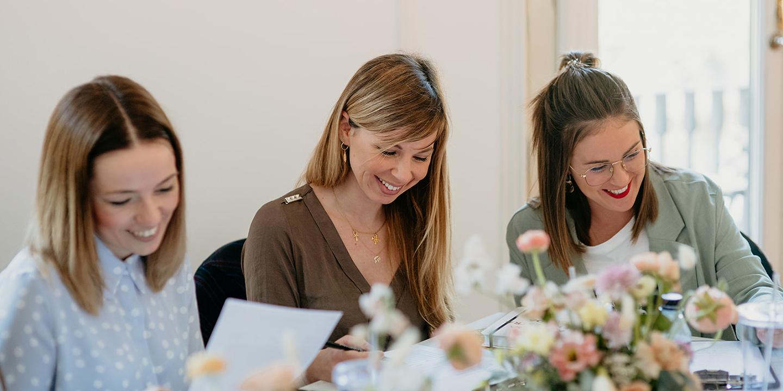 Alumnas del Curso de Estrategia Empresarial para Wedding Planners de Bodas de Cuento School
