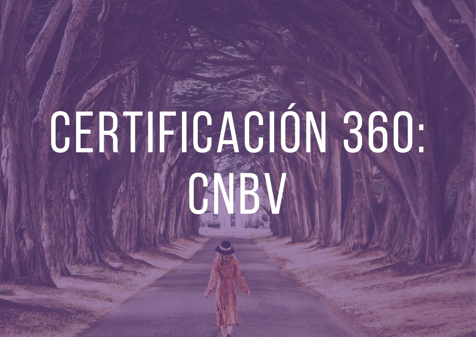 Certificación360: CNBV