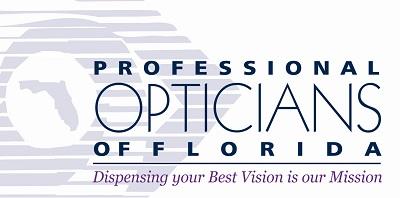 Professional Opticians of Florida Logo