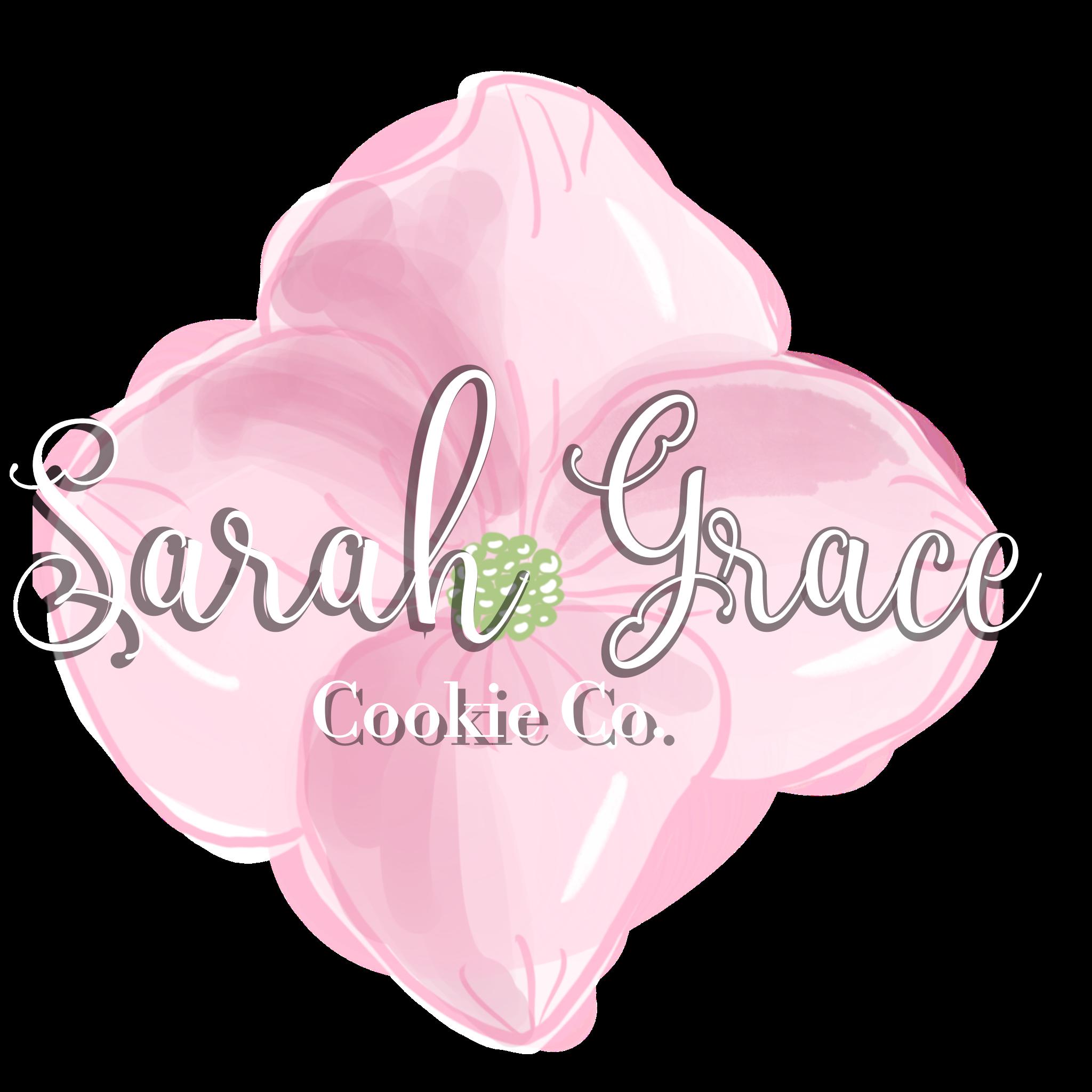 Sarah Grace Cookie Co logo