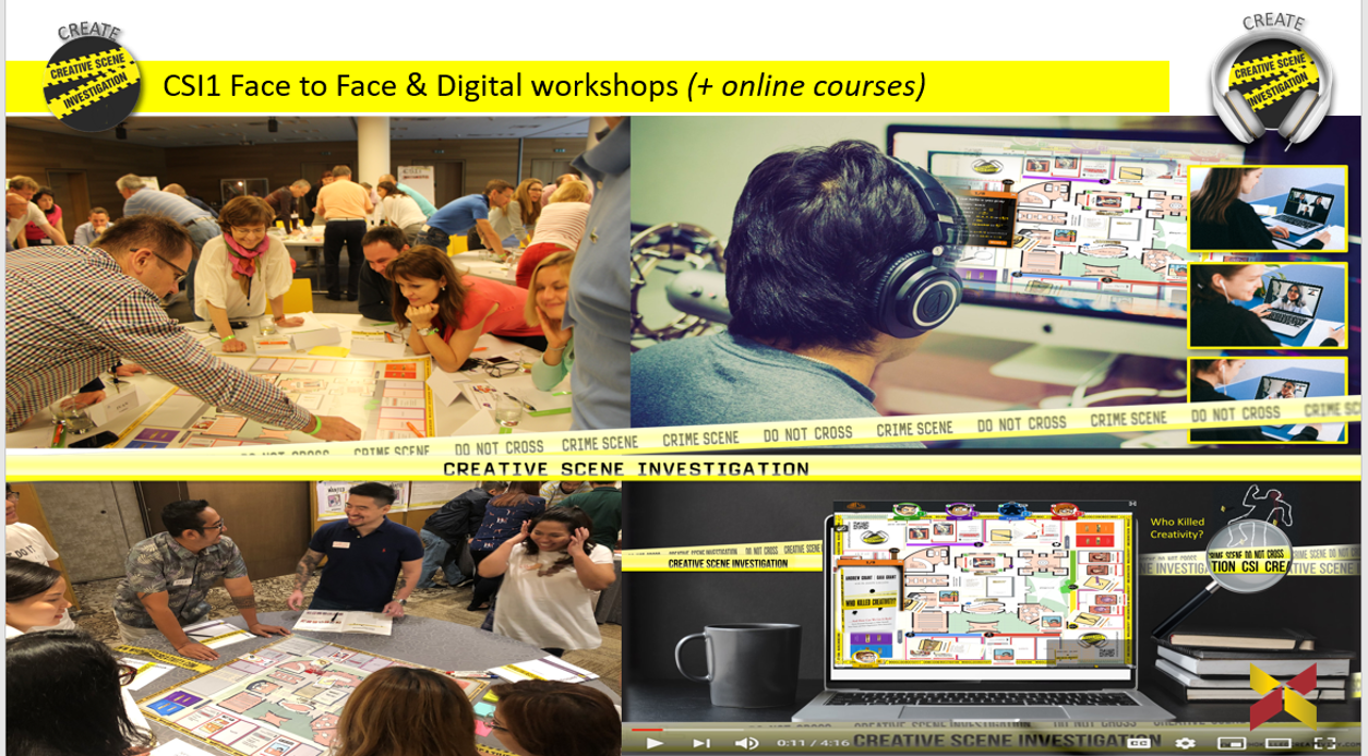 All CSI workshops can be delivered face to face and online virtually. (or a hybrid of both)
