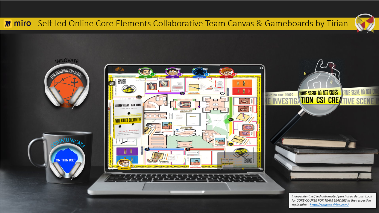 Team Canvas & Gameboards