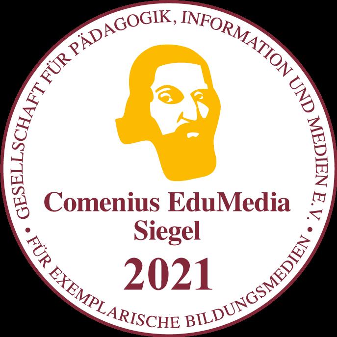 Bild des Comenius EduMedia Siegels