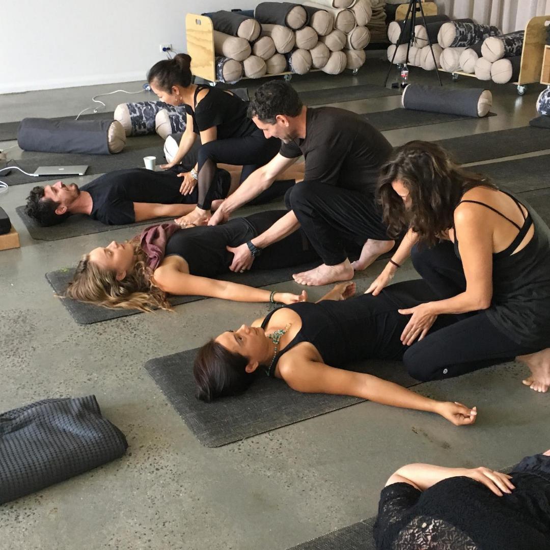 Yin Yoga teacher training image