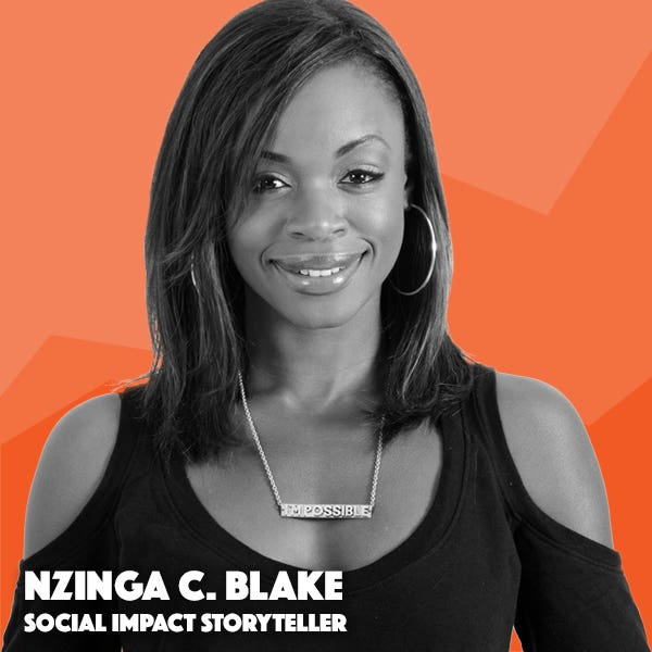 nzinga blake teaches how to make your content more diverse and inclusive