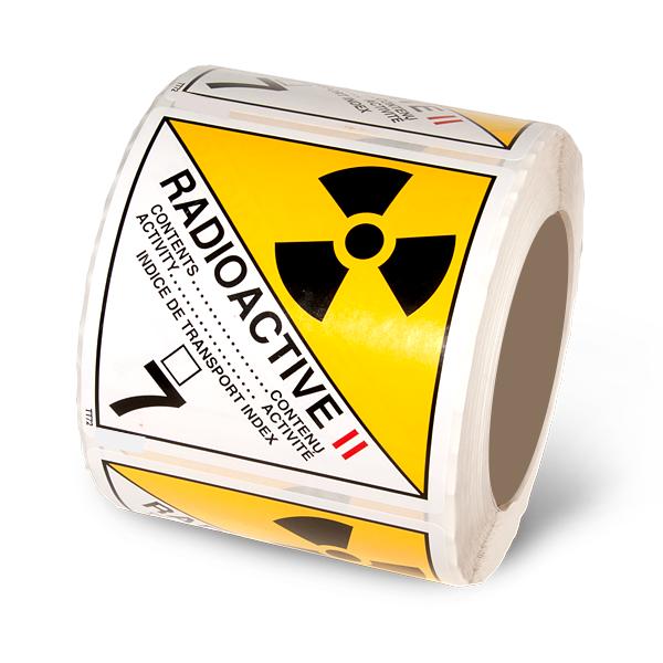 Class 7.2 Radioactive Yellow 2