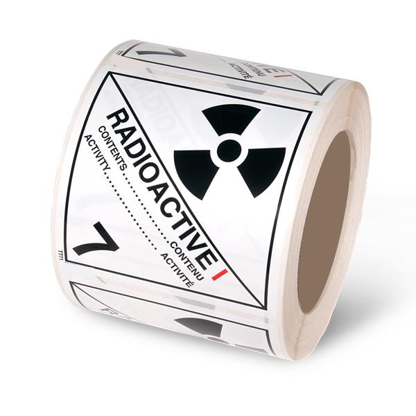 Class 7.1 Radioactive White 1