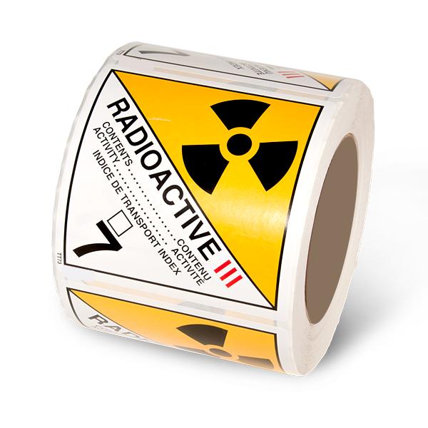 Class 7.3 Radioactive Yellow 3