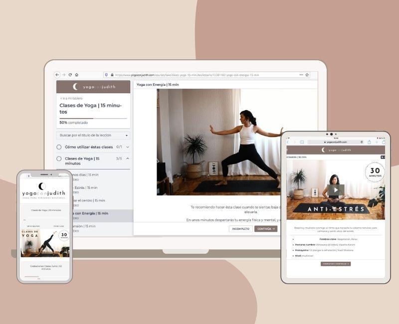 Escuela de Yoga Online en español