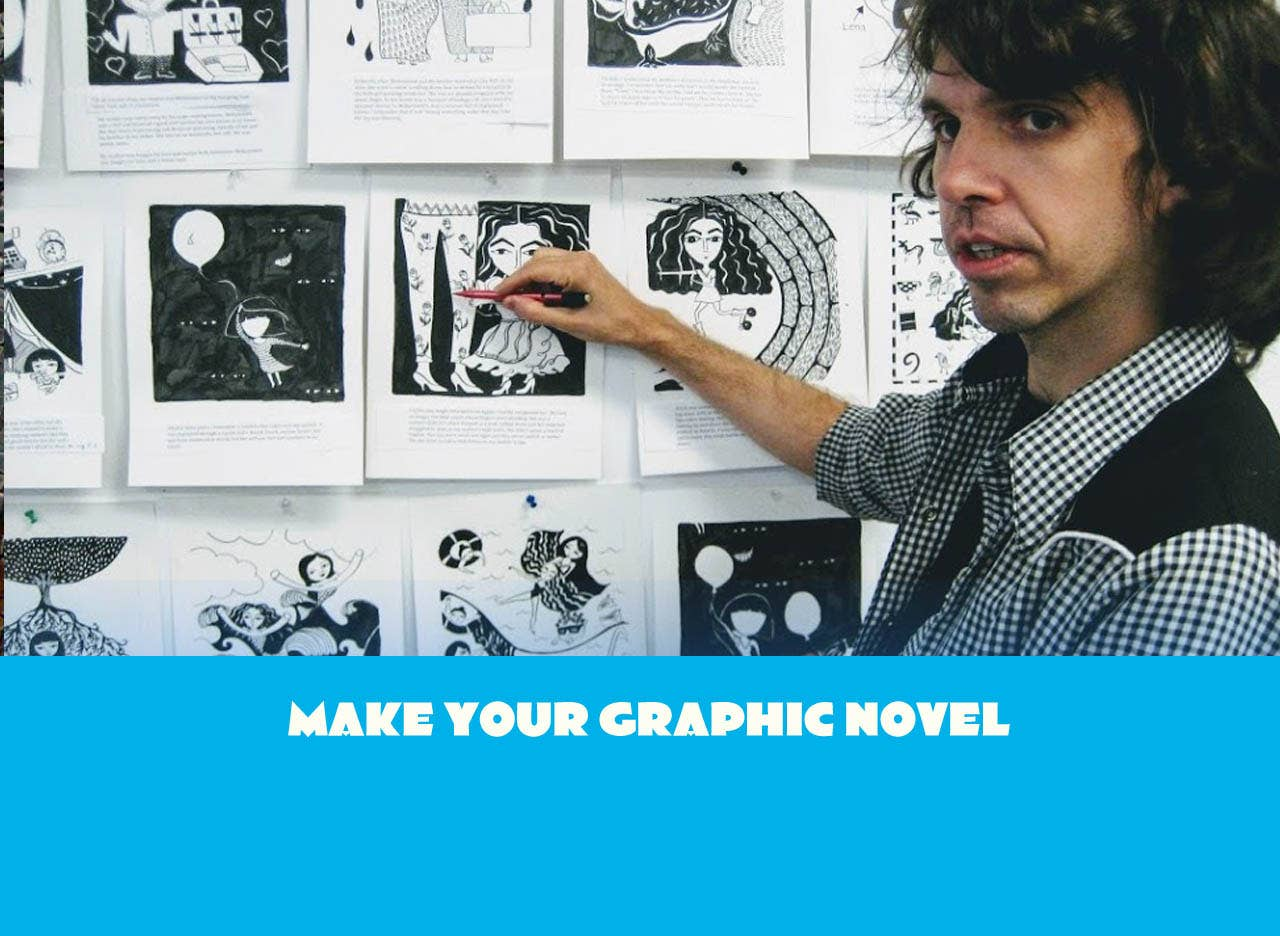 50+ Years of Experience and 1000s of Pages of Art