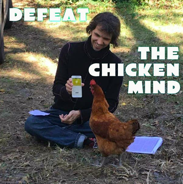 Our brains are like this chicken!