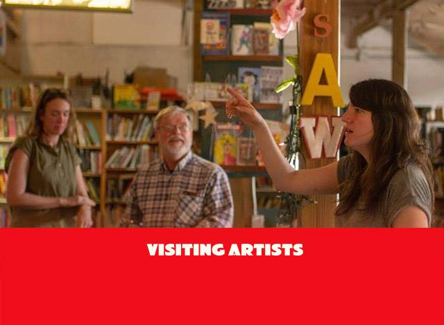 Visiting Artist Talks and Workshops