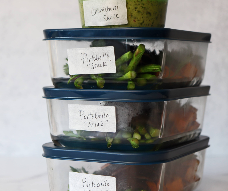 Prepped food boxes