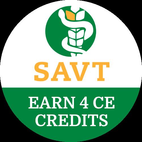 Earn 4 CE Credits with SAVT