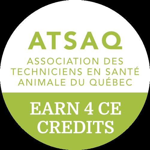 Earn 4 CE Credits with ATSAQ