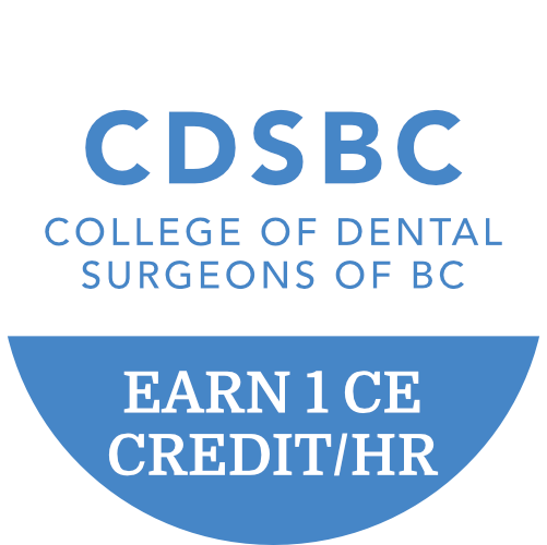 Earn 1 CE Credit per hour with CDSBC