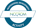 NCCAOM Professional Development Activity Approved